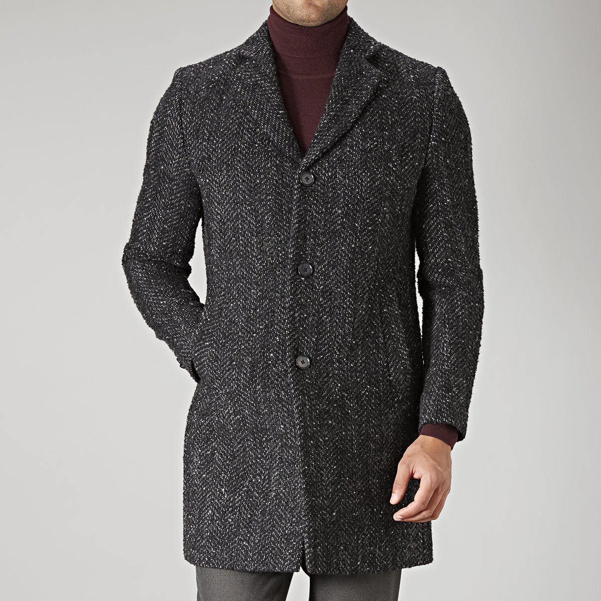 ROCK WOLGER 77 ROCK WOOL COAT thumbnail