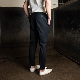 Tailored track trousers svart