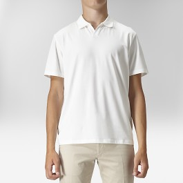 Lima polo t-shirt vit