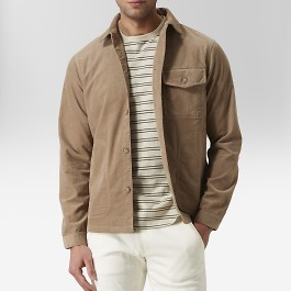 Easton skjortjacka beige