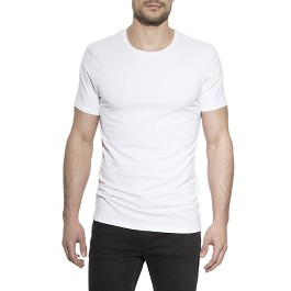 Crew-neck 2-pack t-shirt vit