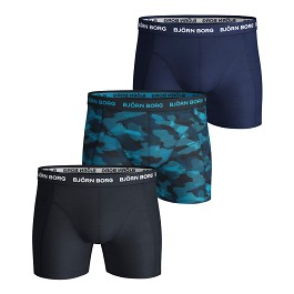 Shadeline Sammy Shorts 3-pack blå