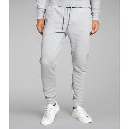 Centre tapered pant grå