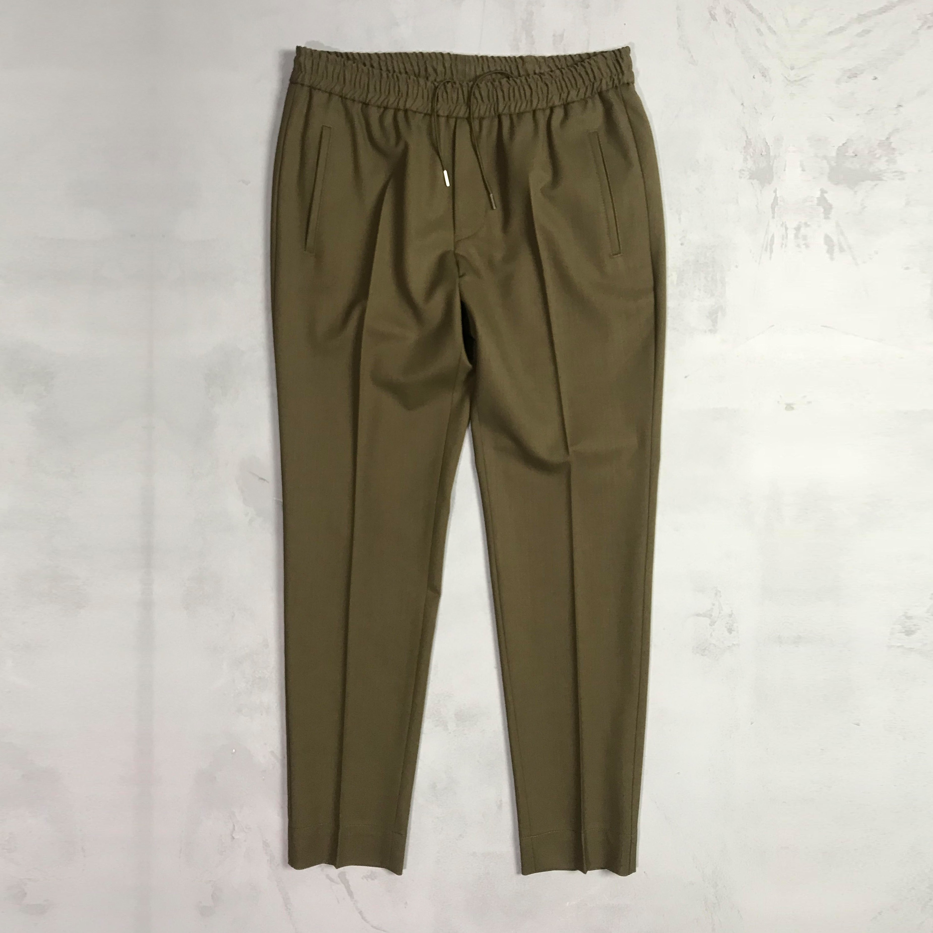 Tailored track trousers grön | Ljung | Brothers.se
