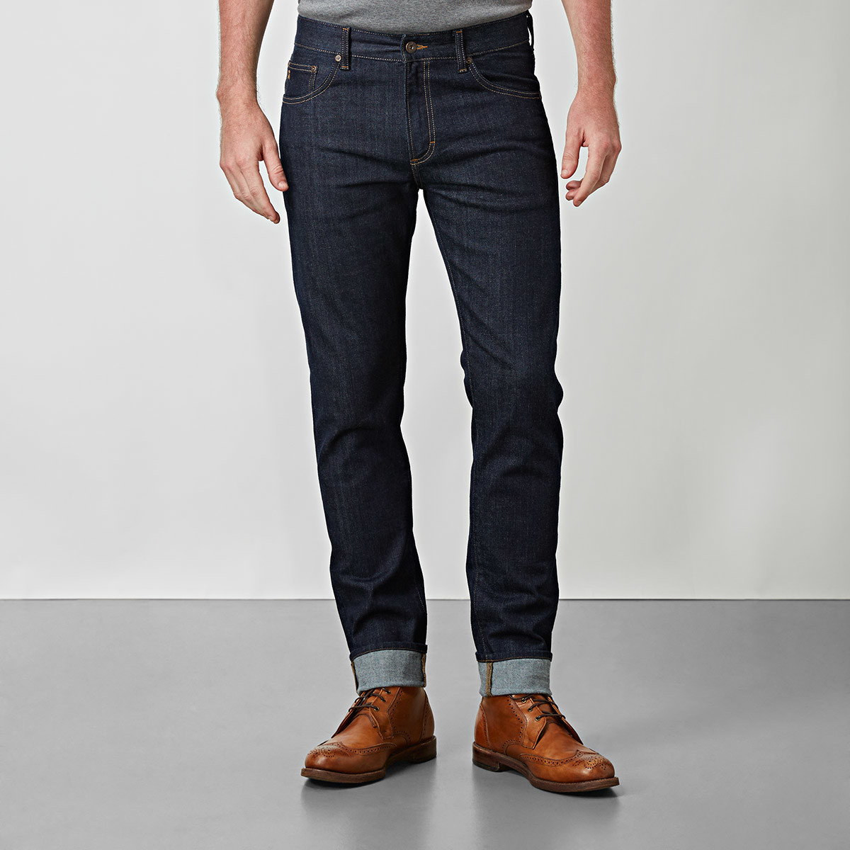 BOWERY BLUE RINSE JEANS