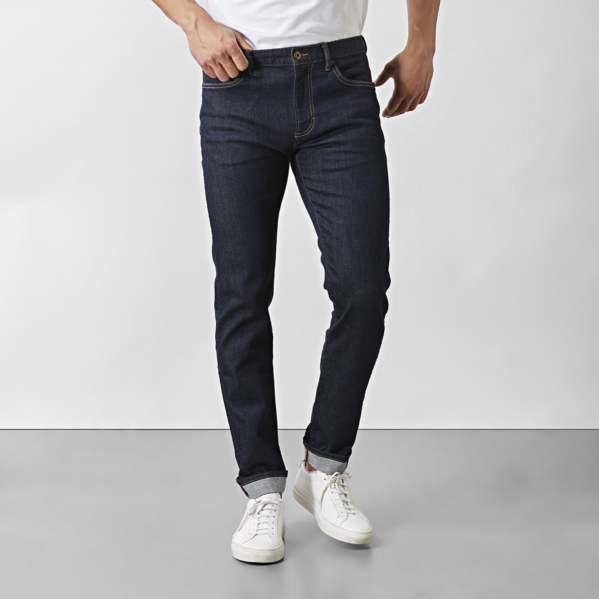 Jeans Barton Super Slim Fit Blå | East West | Brothers.se