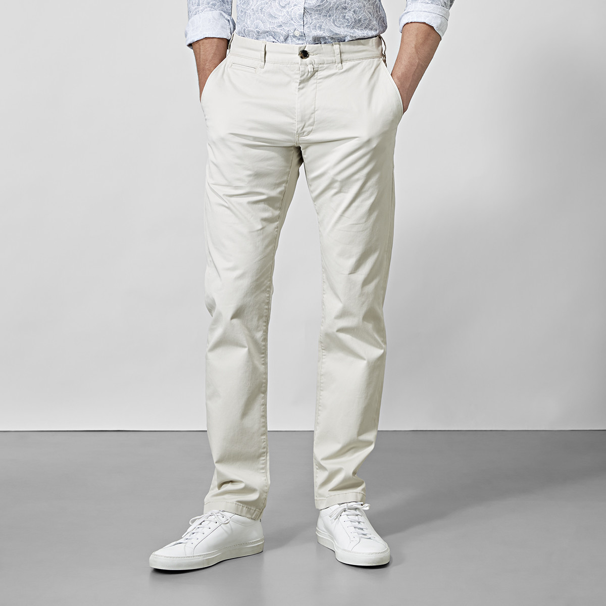 Beige Chino Baxter  | East West | Brothers.se