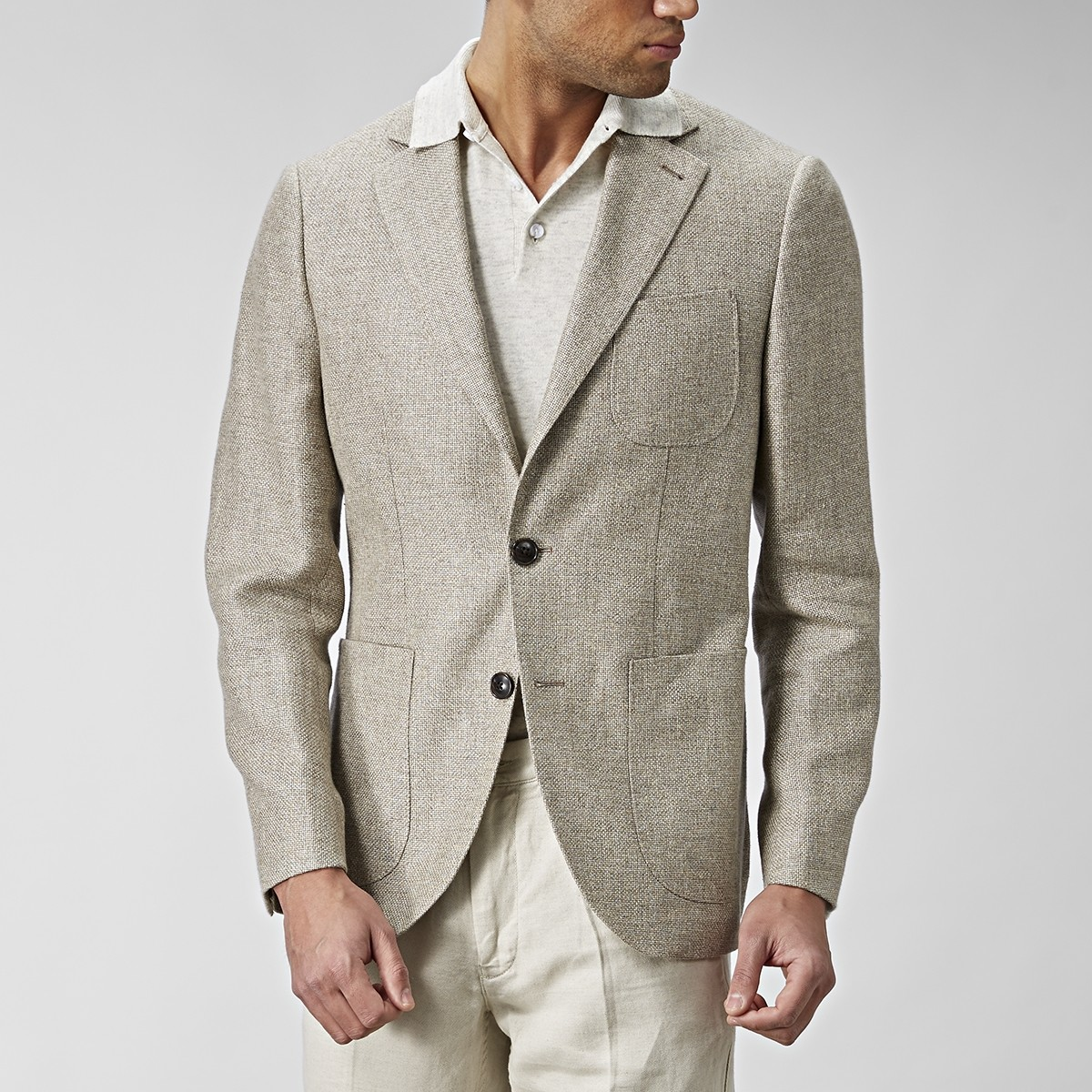 Sutton Kavaj Beige | The Tailoring Club | Brothers.se