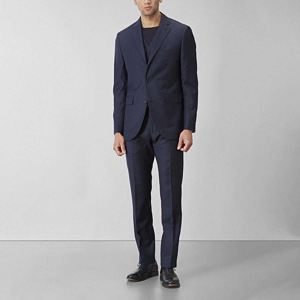 Shelby Wool Twill Kostym Marinblå 25 | Riley | Brothers.se
