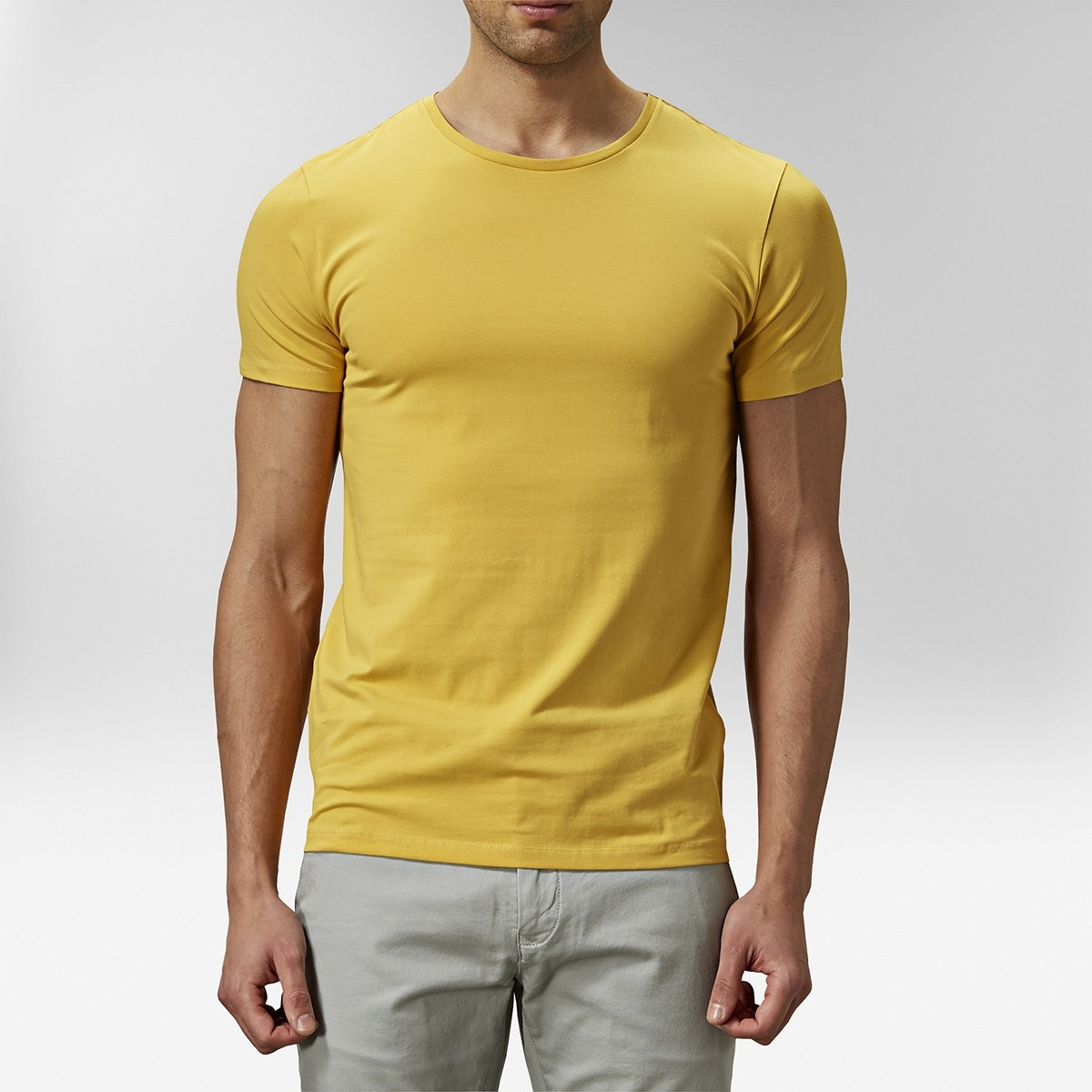 Holborn T-shirt Gul 2 | Riley | Brothers.se