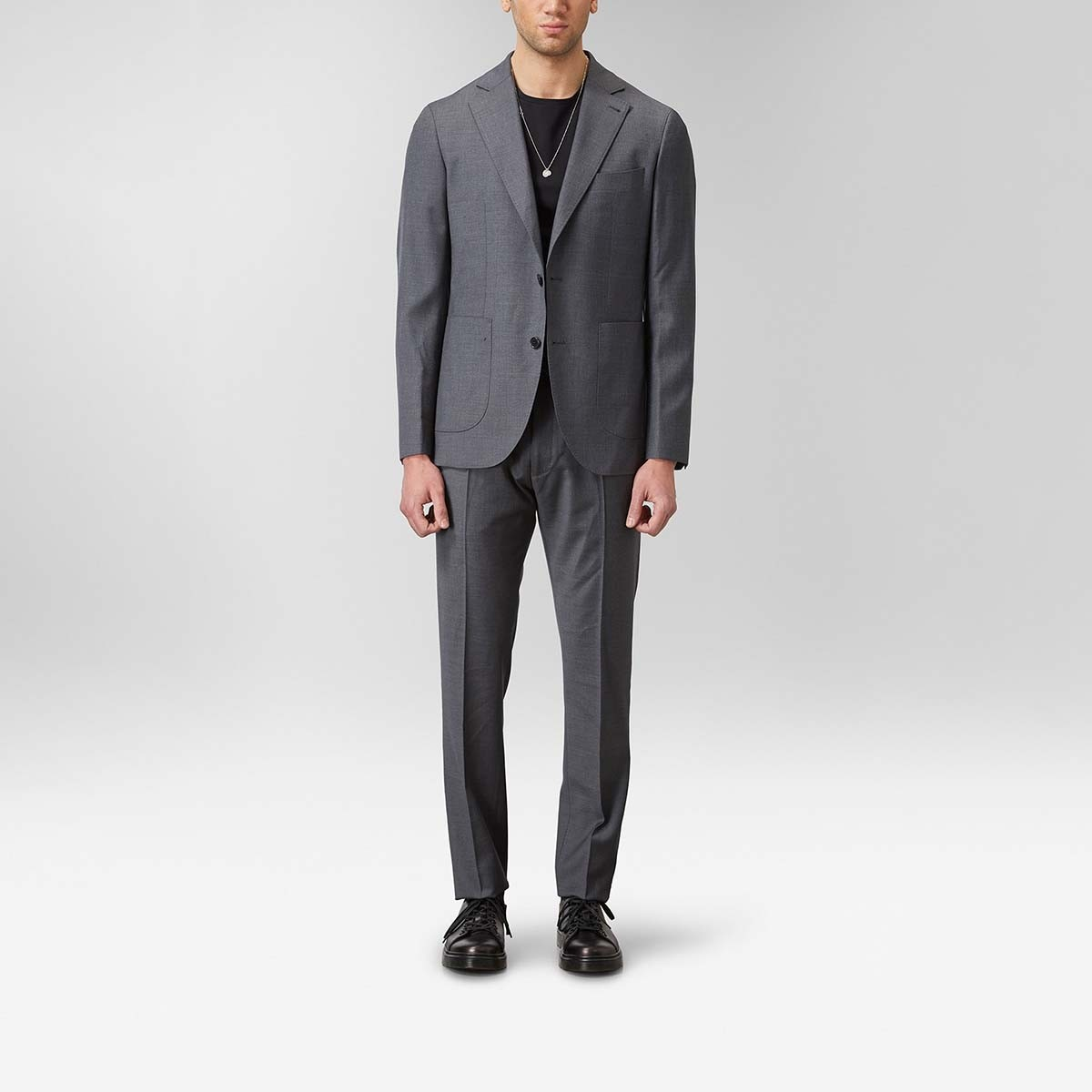 Miller Twill Kostym Grå   The Tailoring Club   Brothers.se