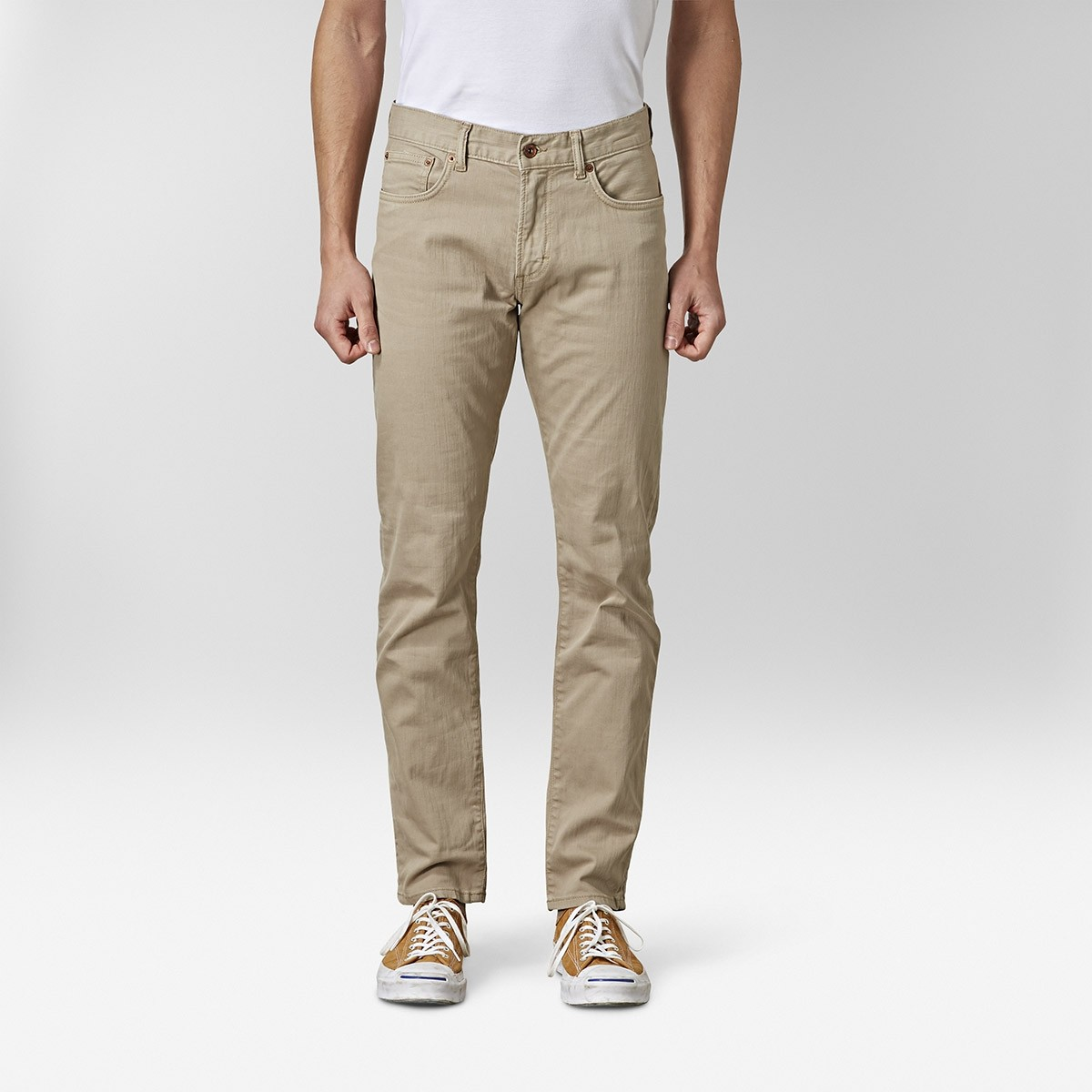 Bowery Jeans Beige | East West | Brothers.se