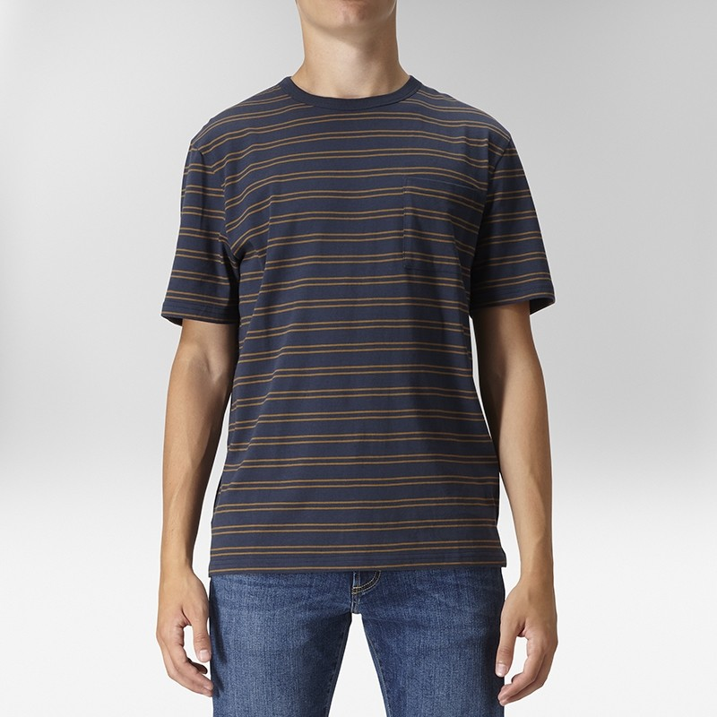 Idris T-shirt Oversize Blå | East West | Brothers.se