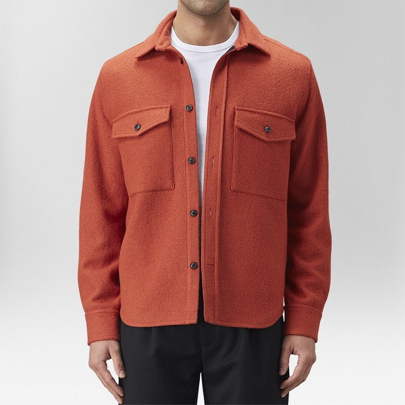 Ranch Jacka Orange | The Tailoring Club | Brothers.se