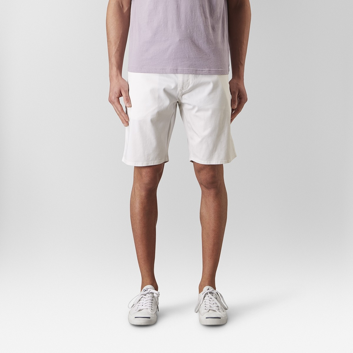 Bowery Chinos Short Vit   East West   Brothers.se