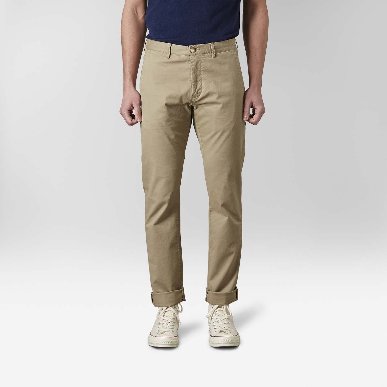 Bowery Chinos Beige 2 | East West | Brothers.se