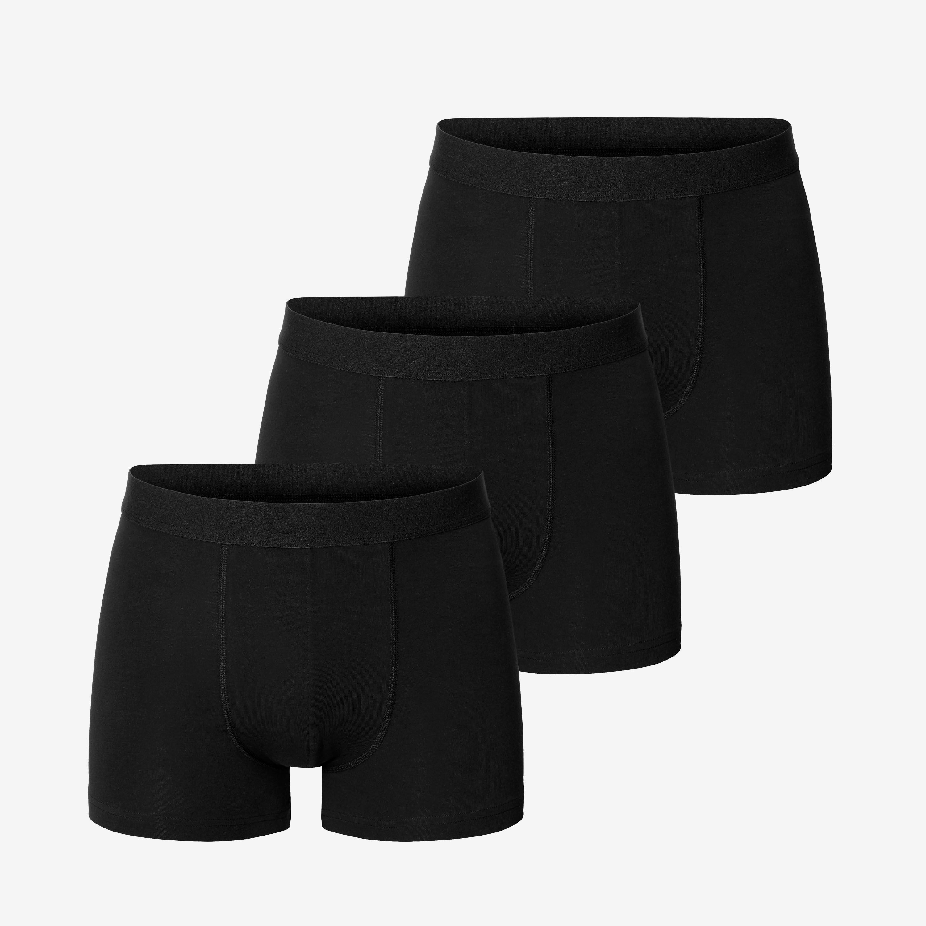 3-Pack Boxer Briefs Kalsonger Svart | Bread & Boxers | Brothers.se