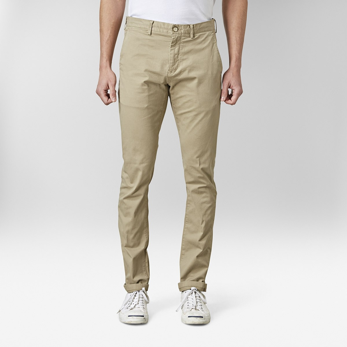 Barton Chinos Beige 2 | East West | Brothers.se