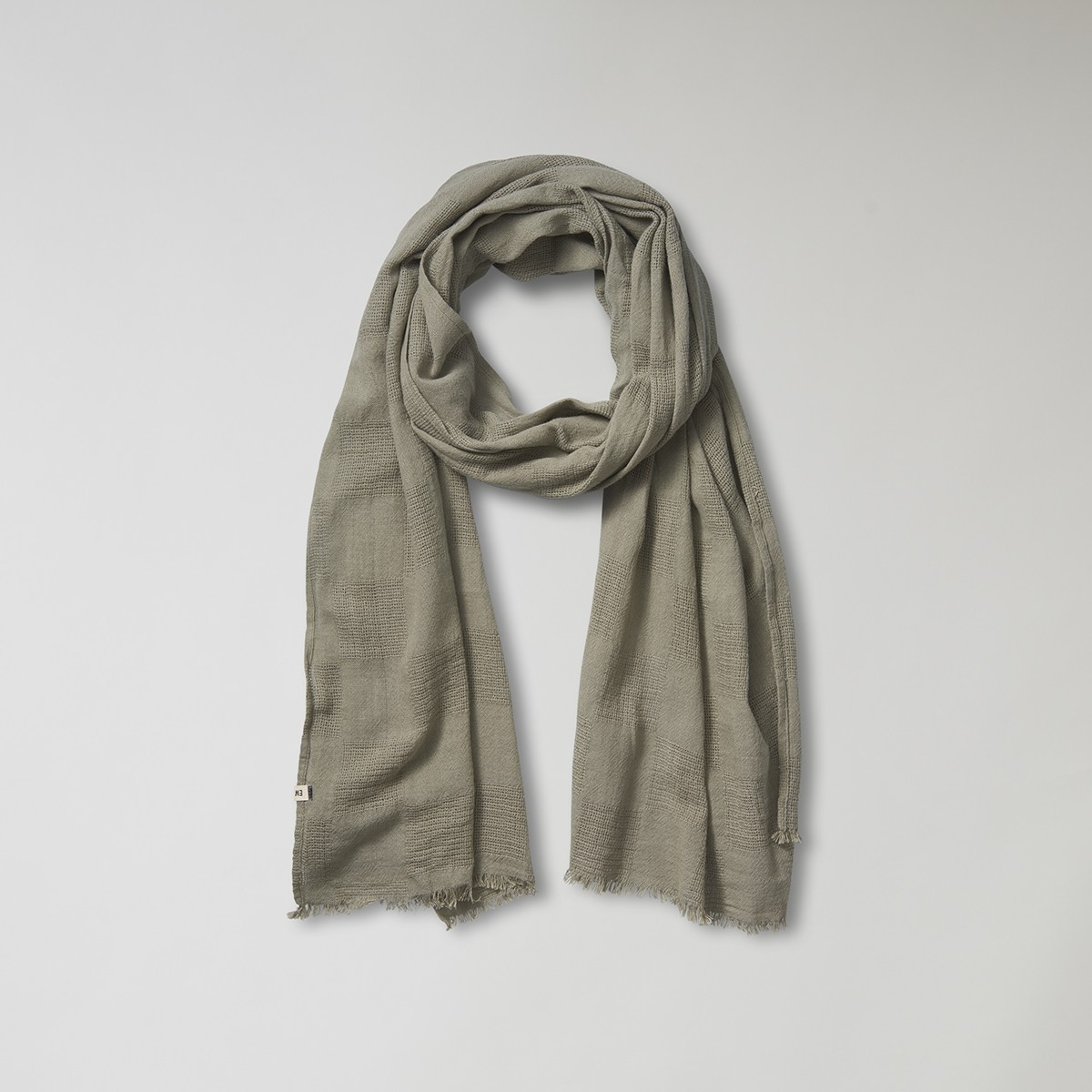 Keane Grön Scarf | East West | Brothers.se