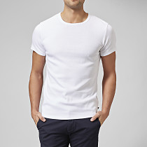 T-shirt o-neck vit