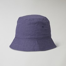 King bucket hat blå