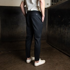 Tailored Track Trousers Svart | Ljung | Brothers.se