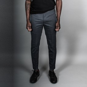Tailored Track Trousers Grå | Ljung | Brothers.se