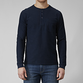 TRÖJA EASTON LONG-SLEEVE HENLEY