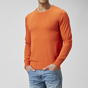 TRÖJA TRUMAN COTTONSILK O-NECK