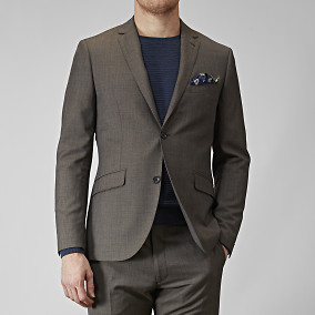 KAVAJ SHELBY WOOL TWILL