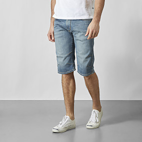 DENIM CREW SHORTS BAXTER