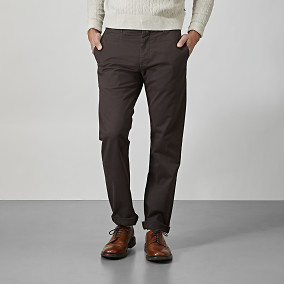 Regular fit chino - brun | East West | Brothers.se