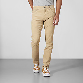 Byxor Bowery 5-pocket cord - beige | East West | Brothers.se