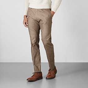 Byxa Shelby winter cotton - beige | Riley | Brothers.se