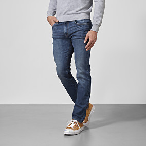 Mörkblå jeans - Bowery slim fit | East West Brothers.se