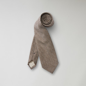 Slips Nevison Tweed - brun | The Tailoring Club | Brothers.se