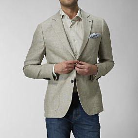 Blazer Sutton Hemp | The Tailoring Club | Brothers.se