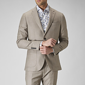 Kavaj Vertigo Four Seasons Beige | The Tailoring Club | Brothers.se