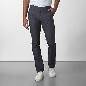 Bowery Stretch Chinos Indigo | East West | Brothers.se