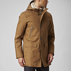 Parka Federico Beige | East West | Brothers.se