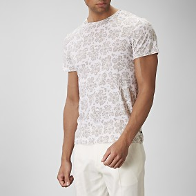 Harlington T-shirt Beige | Riley | Brothers.se
