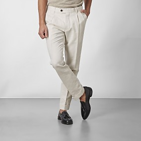 Sutton Byxor Beige | The Tailoring Club | Brothers.se