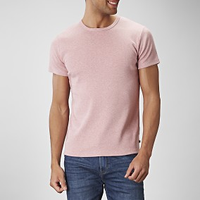 T-shirt O-neck Rosa | East West | Brothers.se