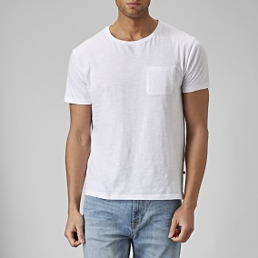 Daxton T-shirt Vit | East West | Brothers.se