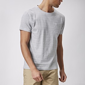 Deman Vit T-shirt | East West | Brothers.se