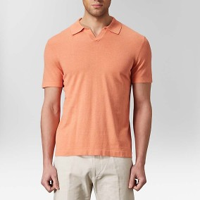 Sandvik Polo T-shirt Orange | Riley | Brothers.se