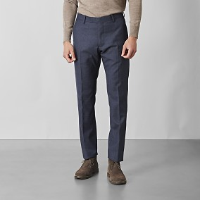 Shelby Wool Twill Kostymbyxor Blå | Riley | Brothers.se