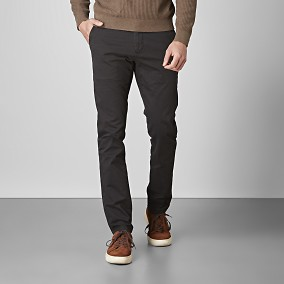 Bowery Stretch Chinos Svart 2 | East West | Brothers.se