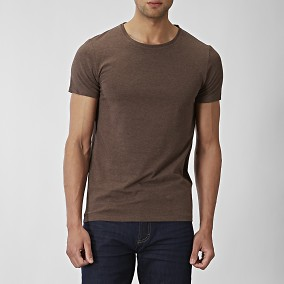 T-shirt Holborn Brun | Riley | Brothers.se
