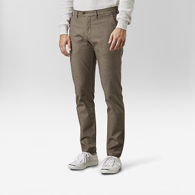 Bowery Chinos Brun | East West | Brothers.se